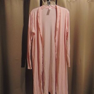 NWOT Pink Cover / light robe